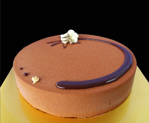 cake, choc mousse, sp, round