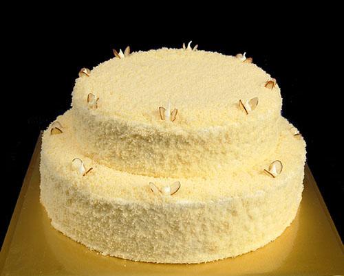 cake, kumara fresh cream 2tiers